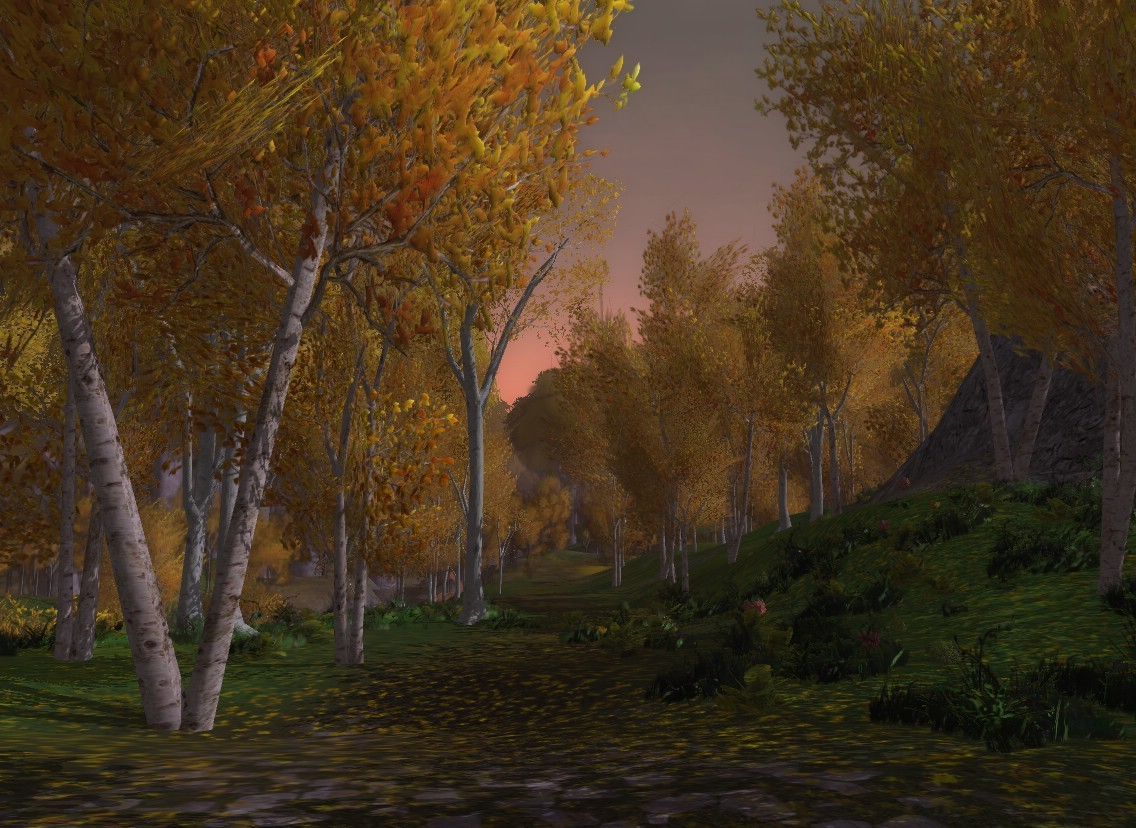 Lord of the Rings Online - Lothlorien Forest Dx10 Maxed Out