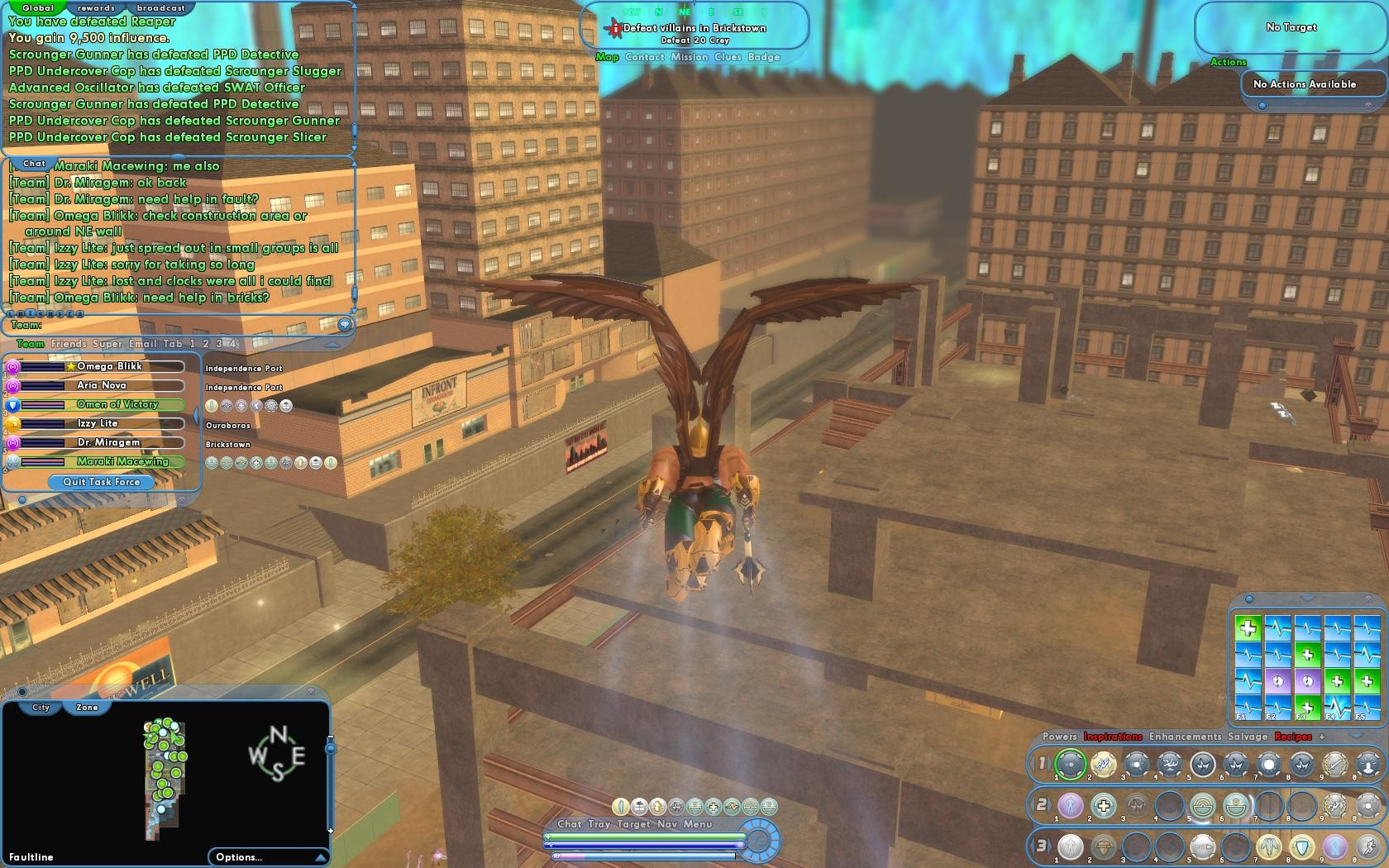 City of Heroes - Defeat Villains in Brickstown