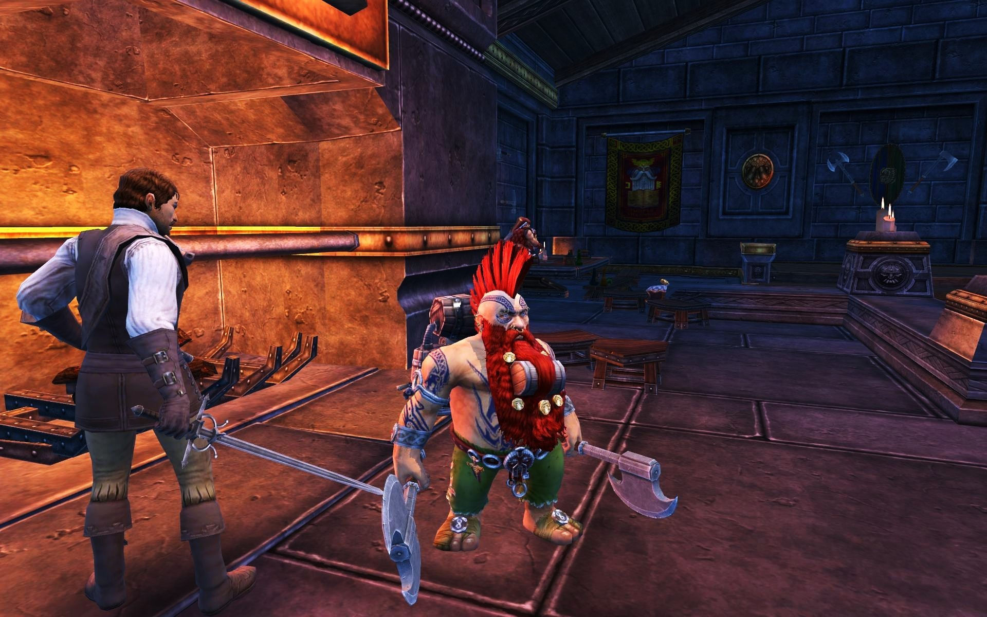 Warhammer Online: Age of Reckoning - Grimtarok the walking tavern. Return to WAR after the Slayer release.