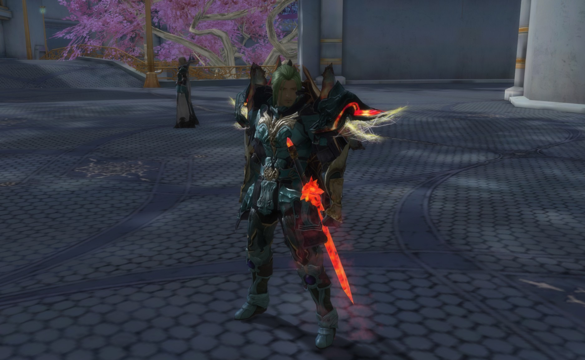 Aion - Some of the armor is just crazy. The glowing effects on the shoulders are animated really neat