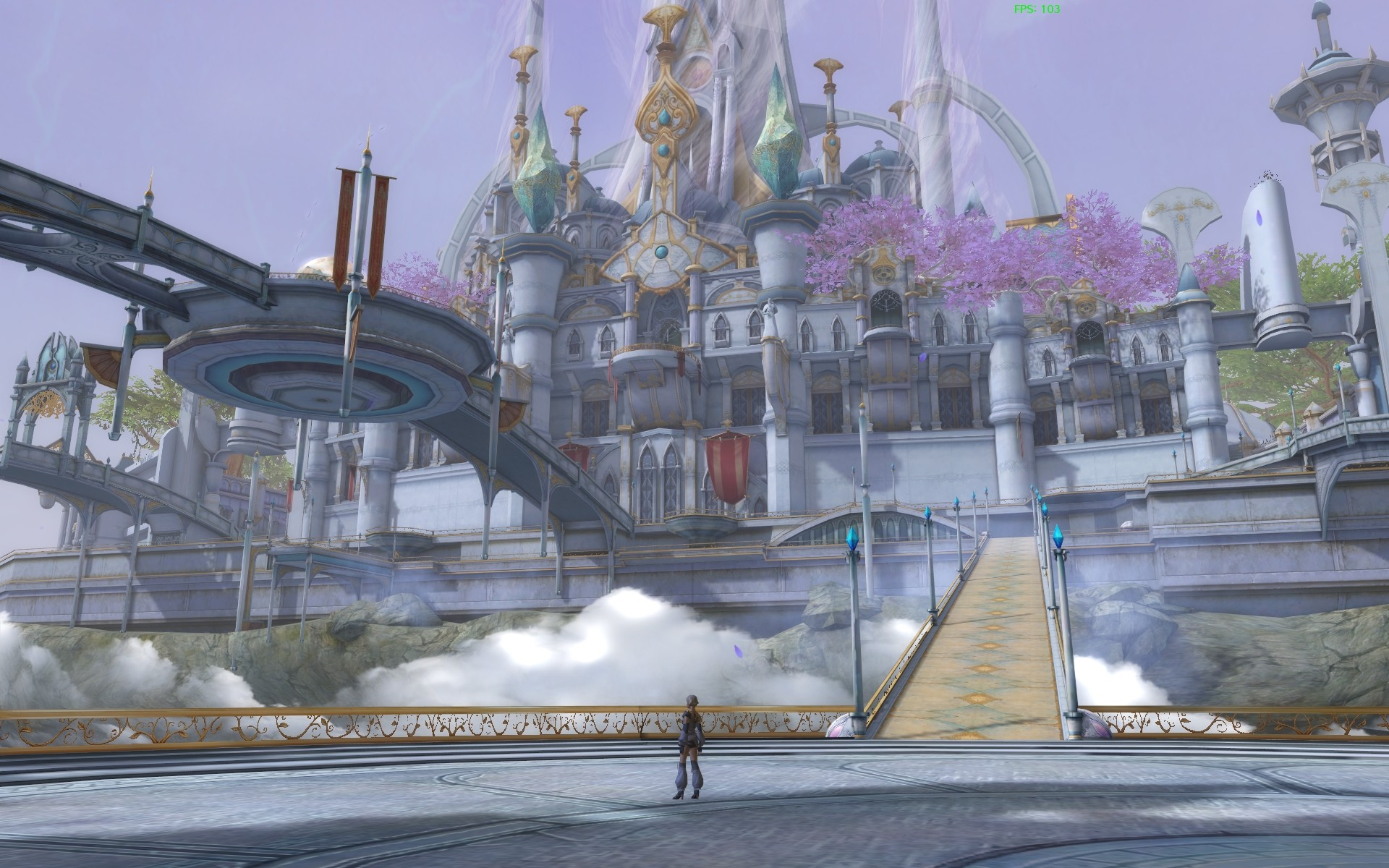 Aion - All this at 103fps, not too shabby