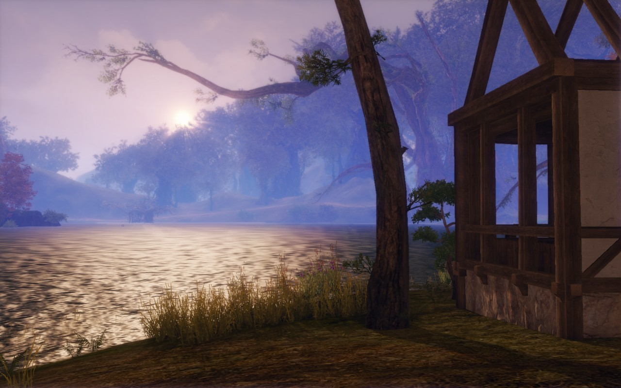 ArcheAge - housing by the lake