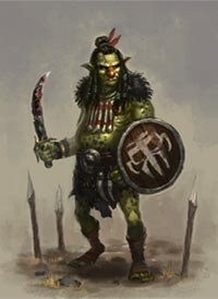 Goblin, as depected on www.midkemiaonline.com -- all credit goes to original artist!