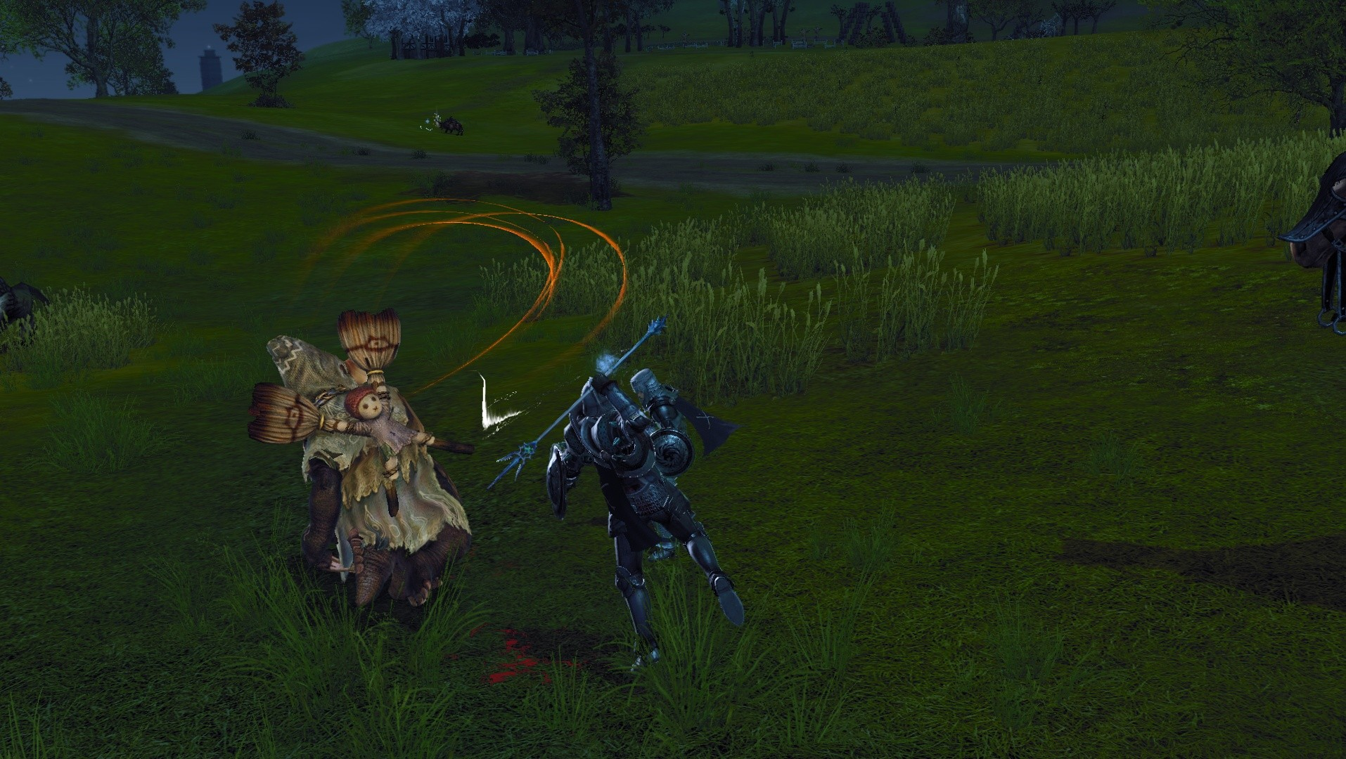 ArcheAge - a short spear I guess