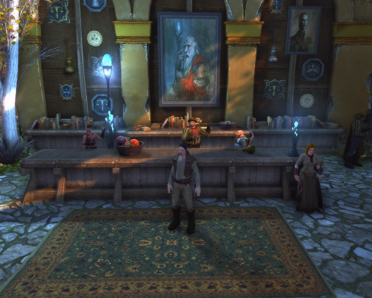 Neverwinter - Some..Vampire like dude on the right...