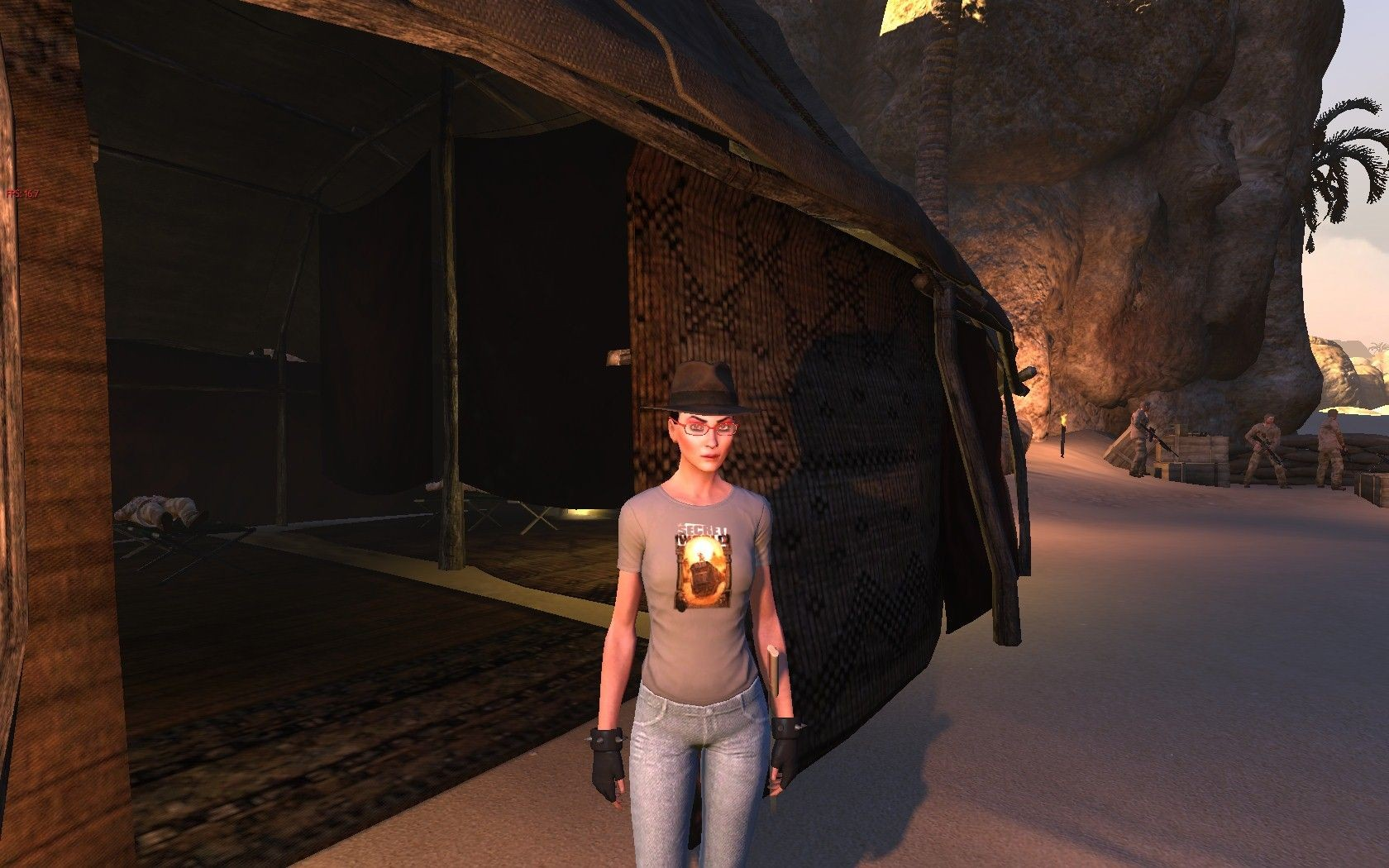 The Secret World - Issue 6 - Indiana Jones Fedora with achievement T-Shirt
