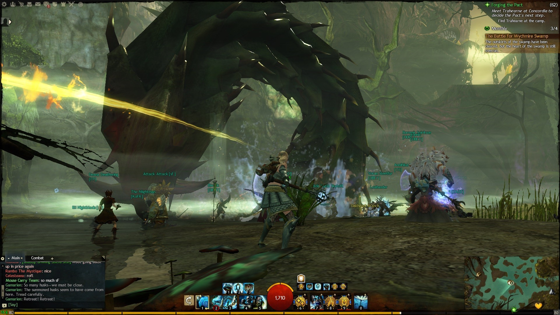Guild Wars 2 - Look 5:30 am still players