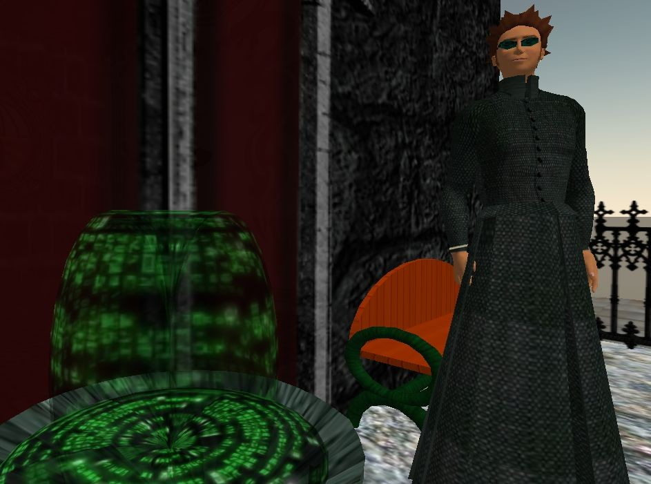 Second Life - Orlando Gigamon in The Matrix at Second Life