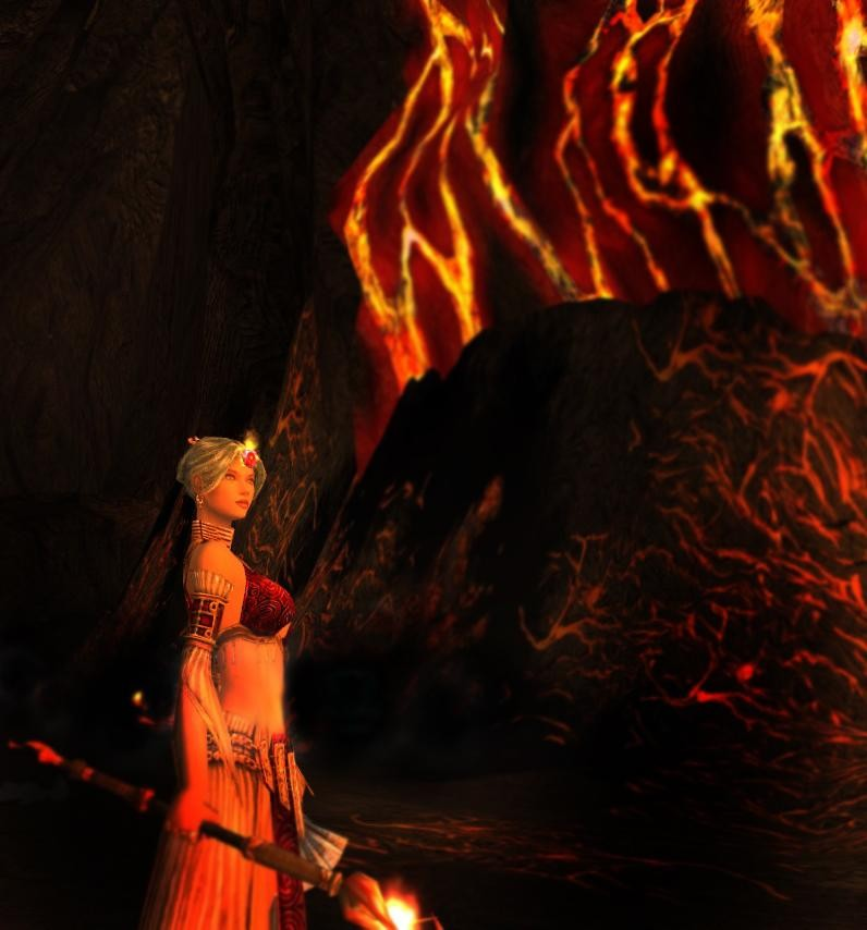 Fire Elementalist in the Catacombs of Kathandrax - MMORPG ...