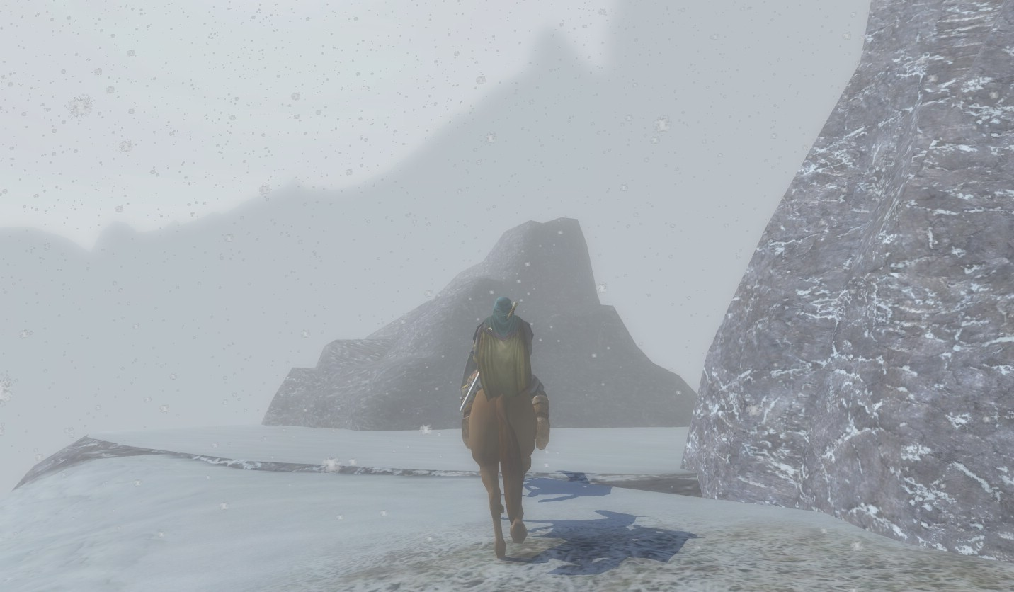 Lord of the Rings Online - Lone Hero In The Storm