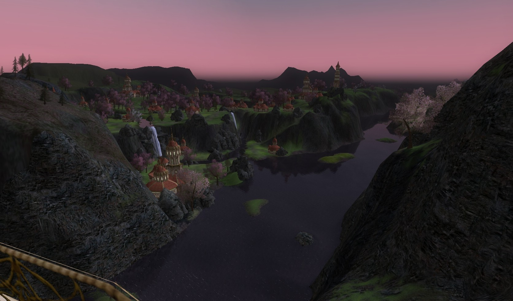 Lord of the Rings Online - Taking in the View