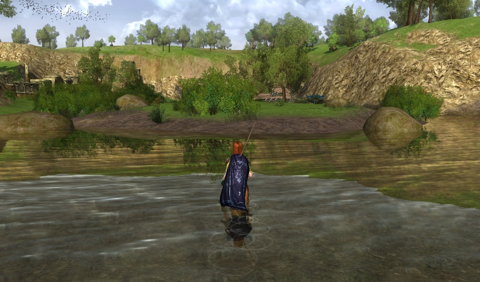 Lord of the Rings Online - Wading through Water