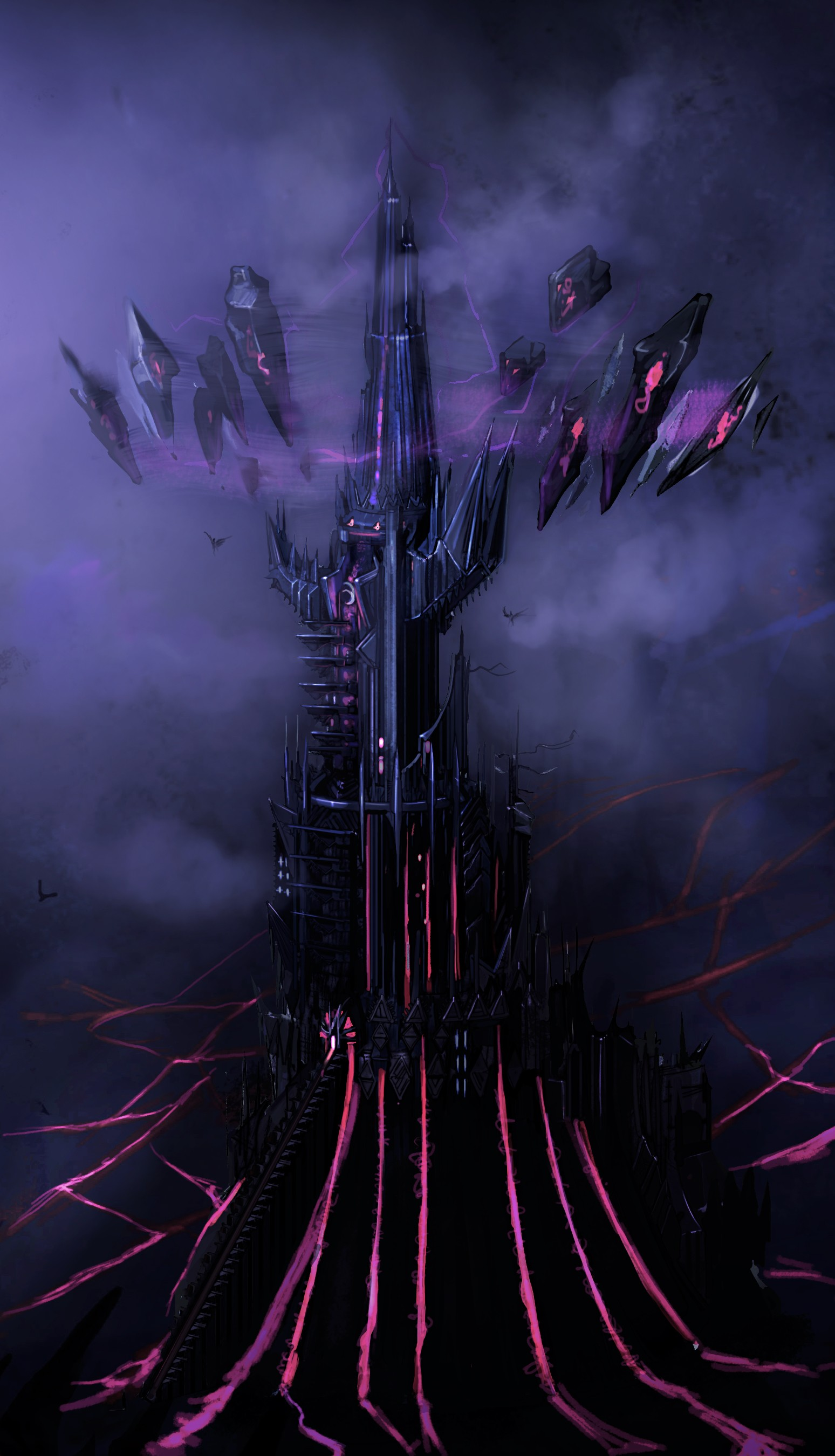 Dnd Online More Module 9 Concept Art This Is Tower Of Despair Built By The Devils Mmorpg
