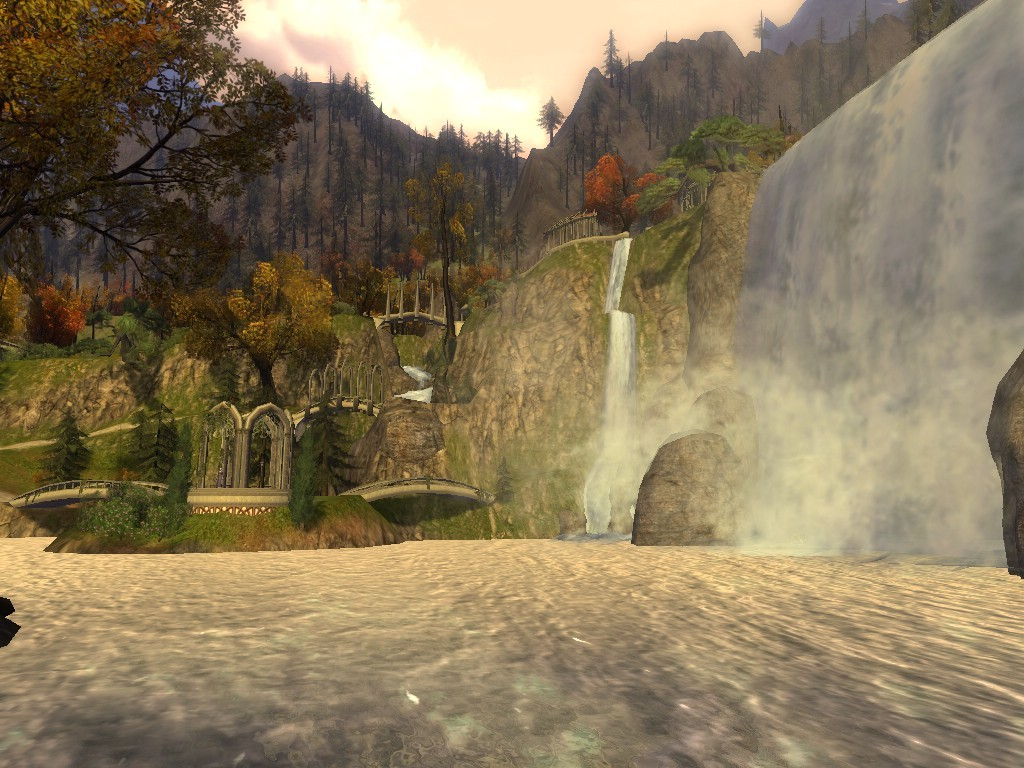 Lord of the Rings Online - rivendell view