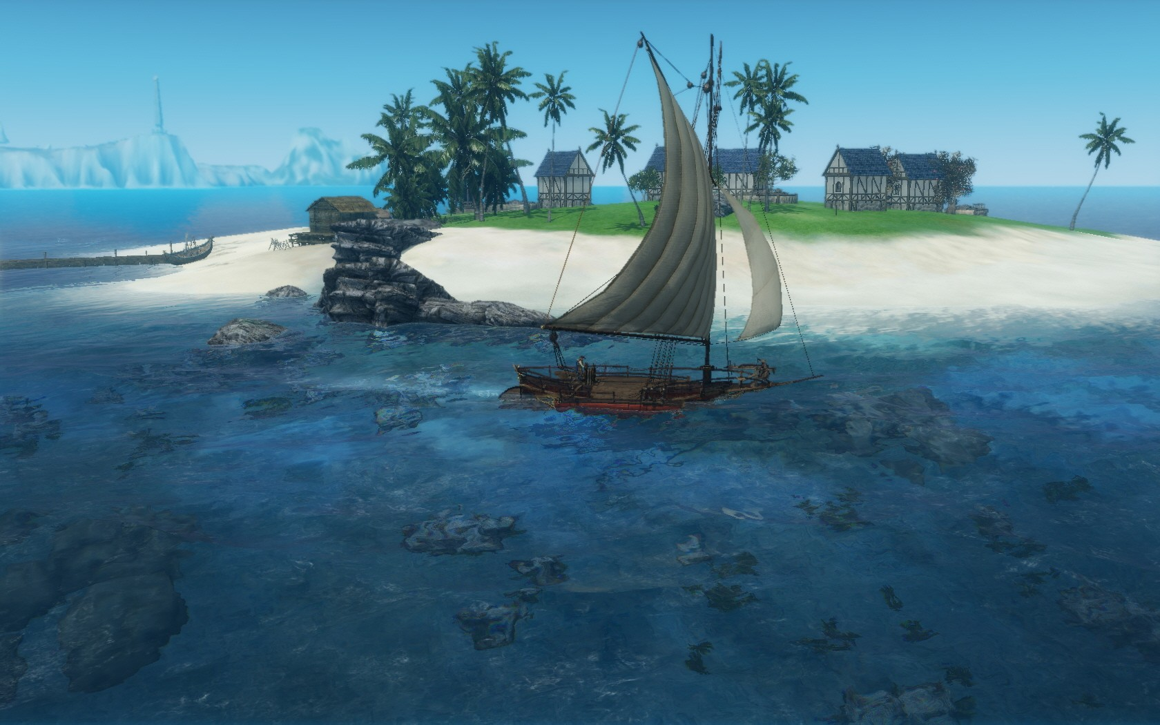 ArcheAge - Player Village on an Island