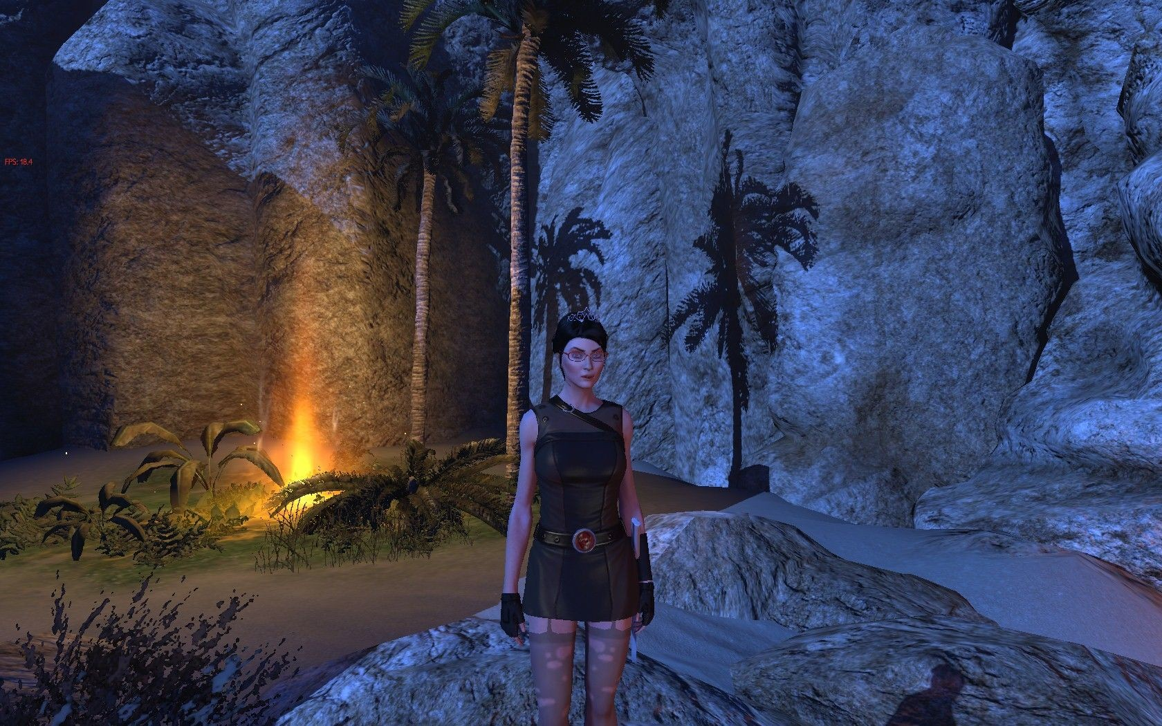 The Secret World - TSW - Outfit - DisUnity with Rogue stockings