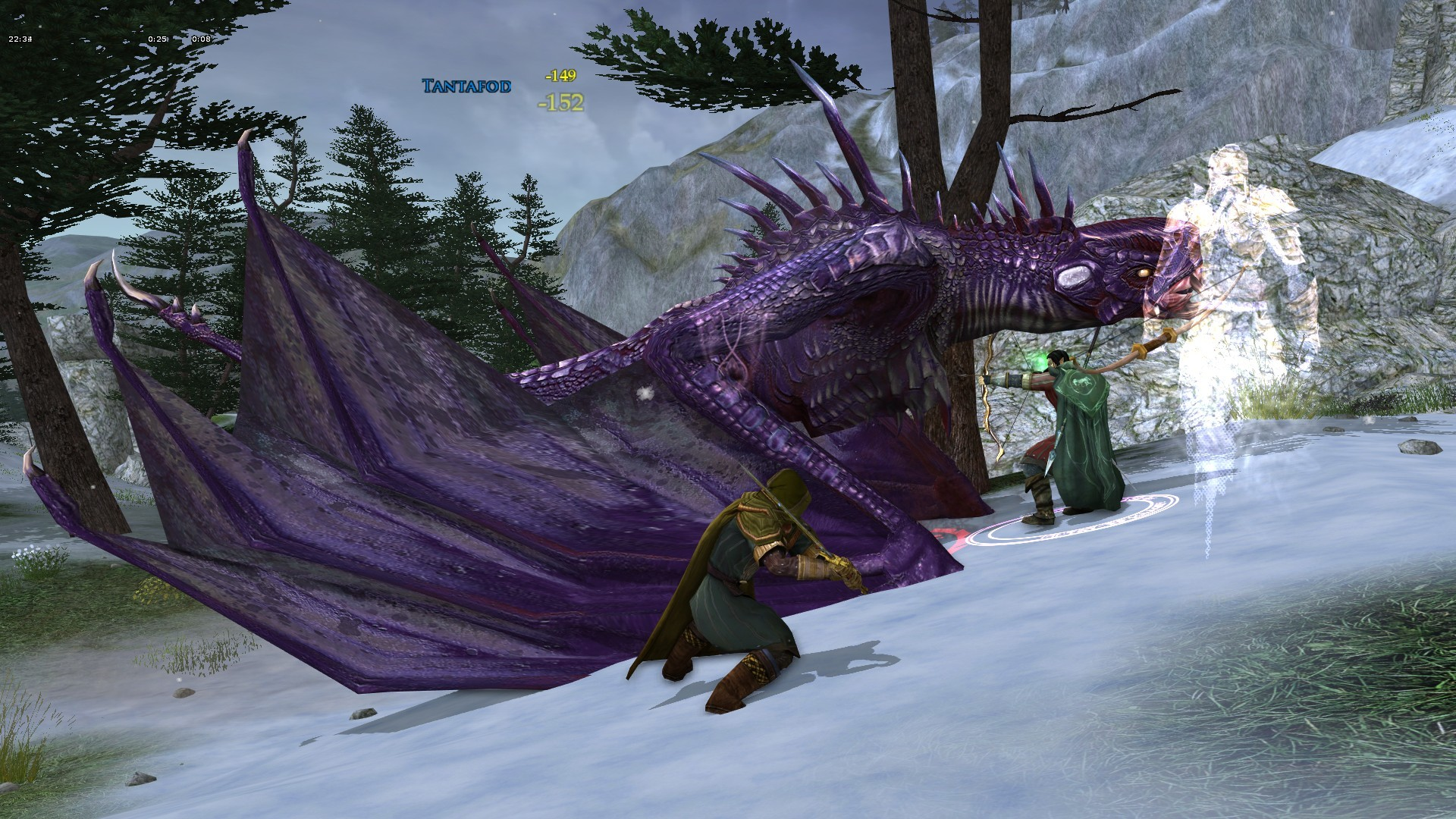 Lord of the Rings Online - Drake at Enedwaith in Lotro
