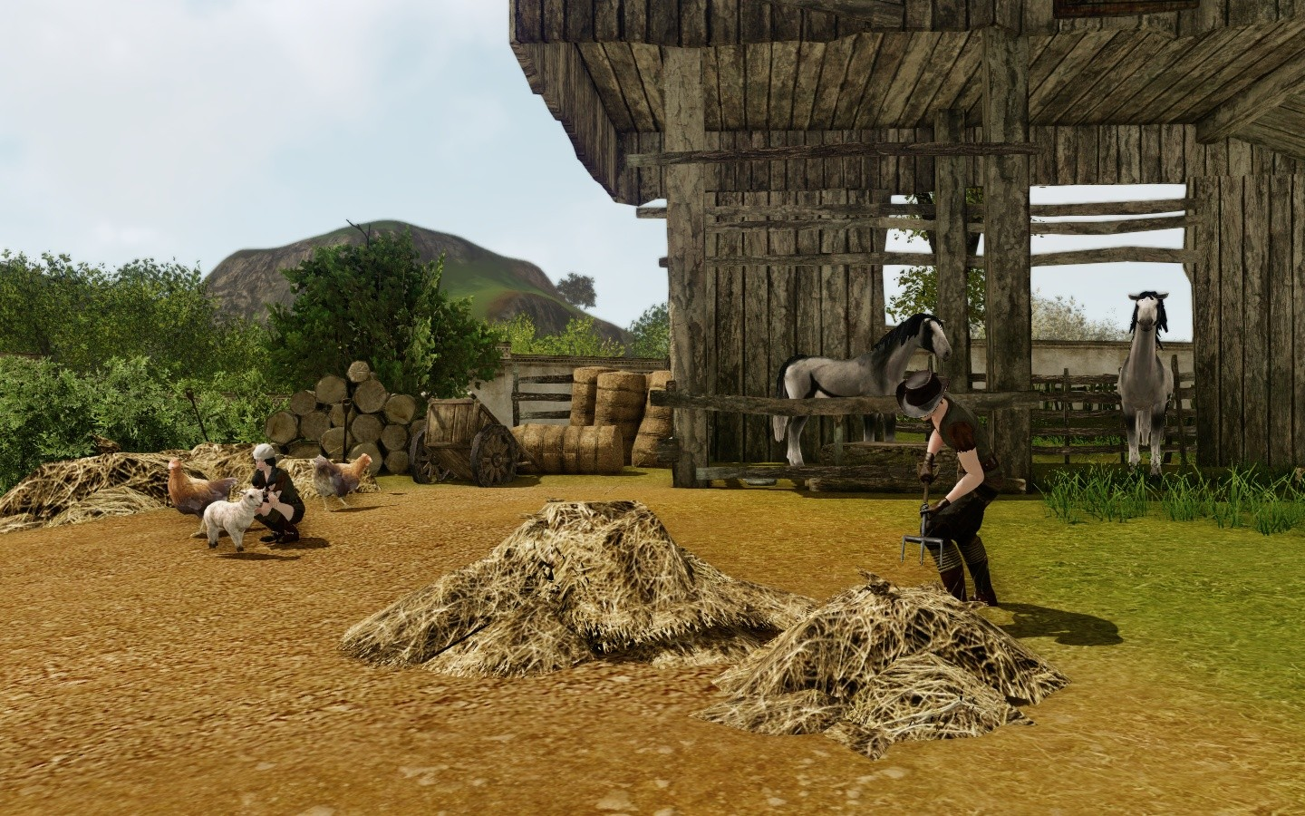 ArcheAge - cute details scenery