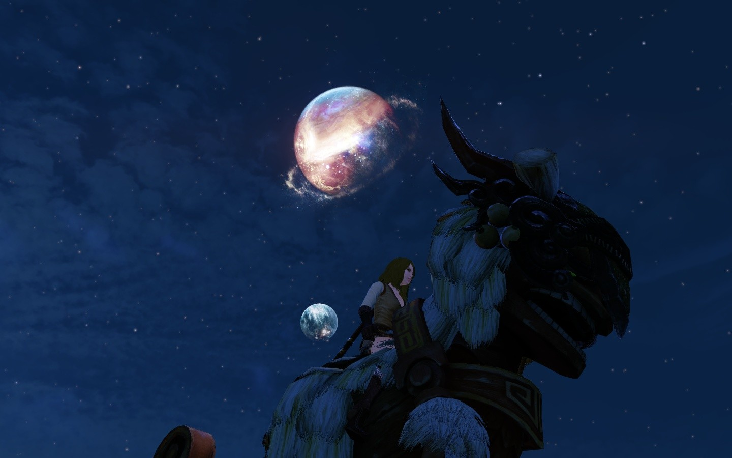 ArcheAge - Riding in the moonlight everybody..