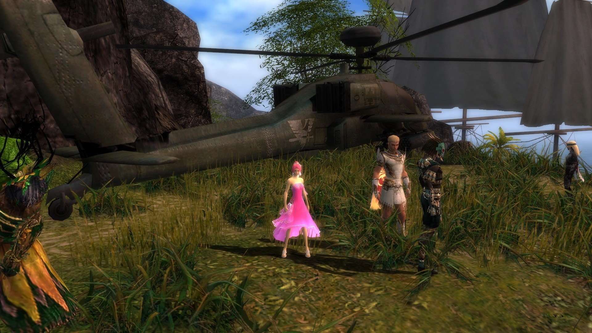 Guild Wars - Helicopter