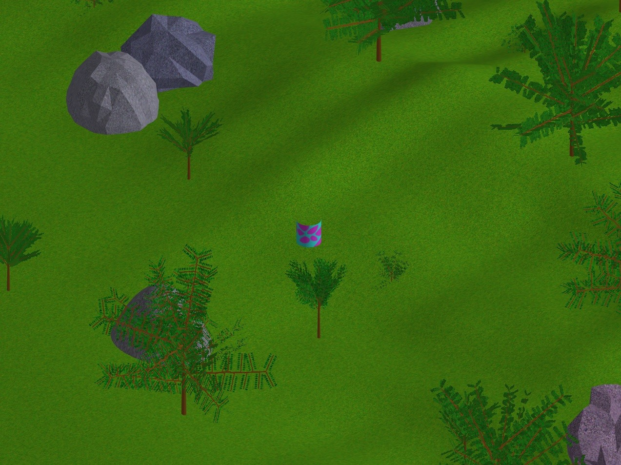 isometric view, rotated in theta direction
