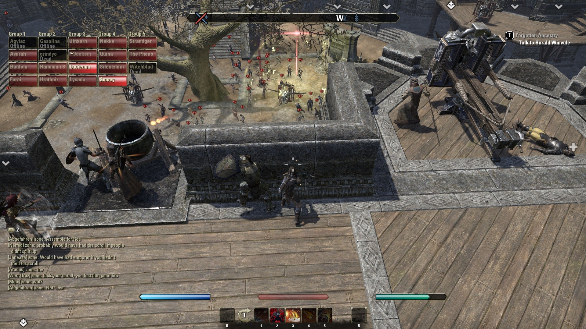 Elder Scrolls Online - I think we're going to lose this battle...