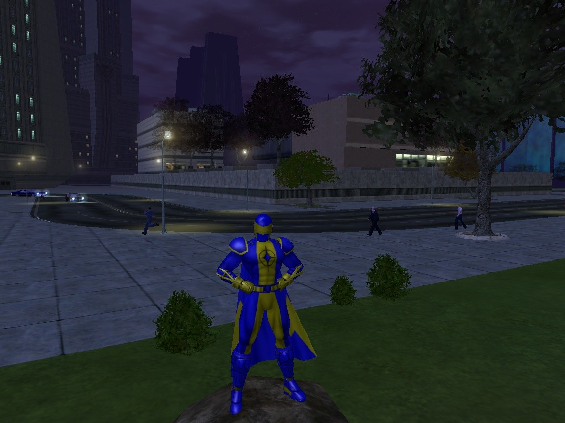 City of Heroes - My lvl 24 (now) Blaster Elec/Elec named Shock n Awesome