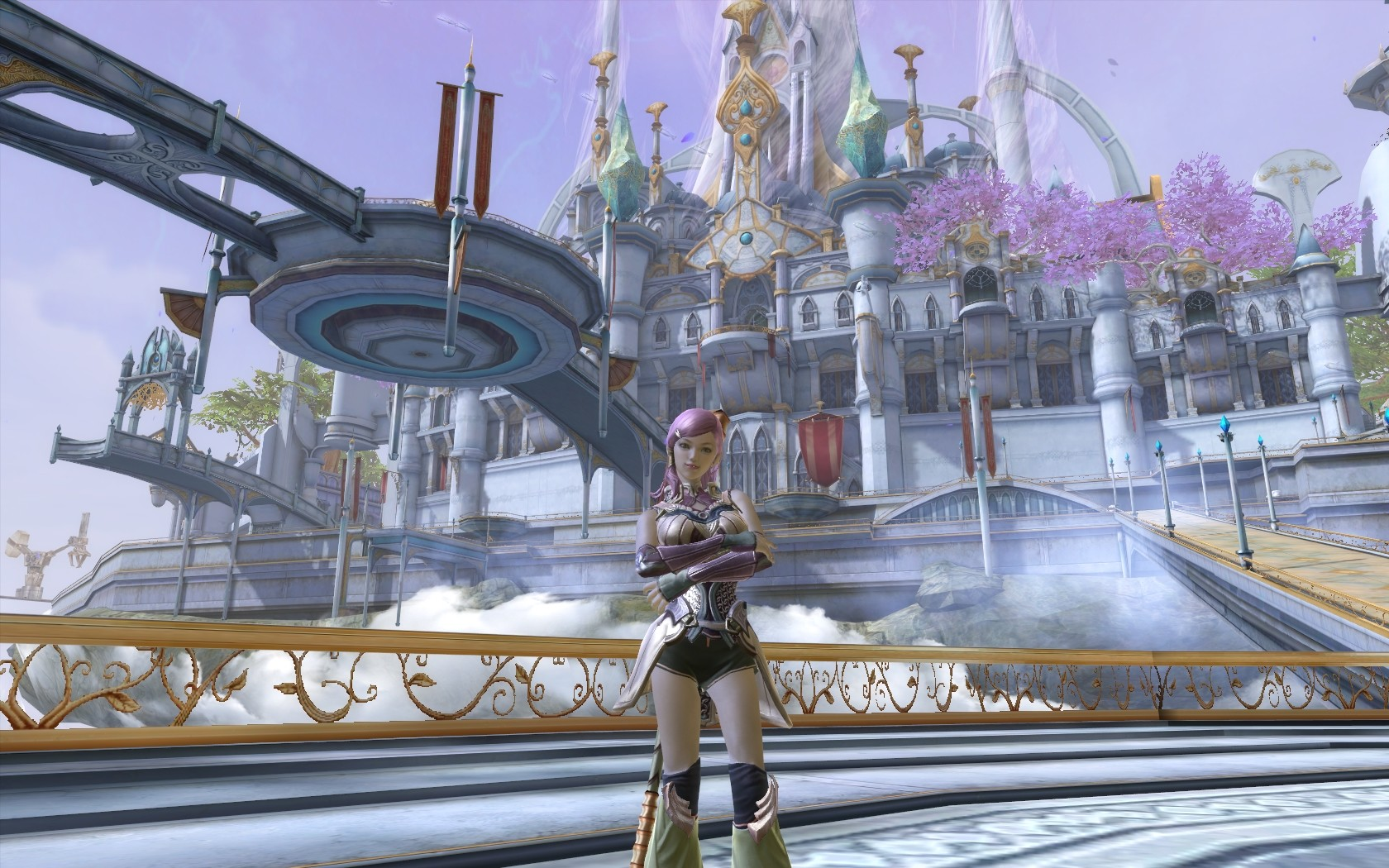 Aion - My Elyos Chanter, in Sanctum, the Elysean city