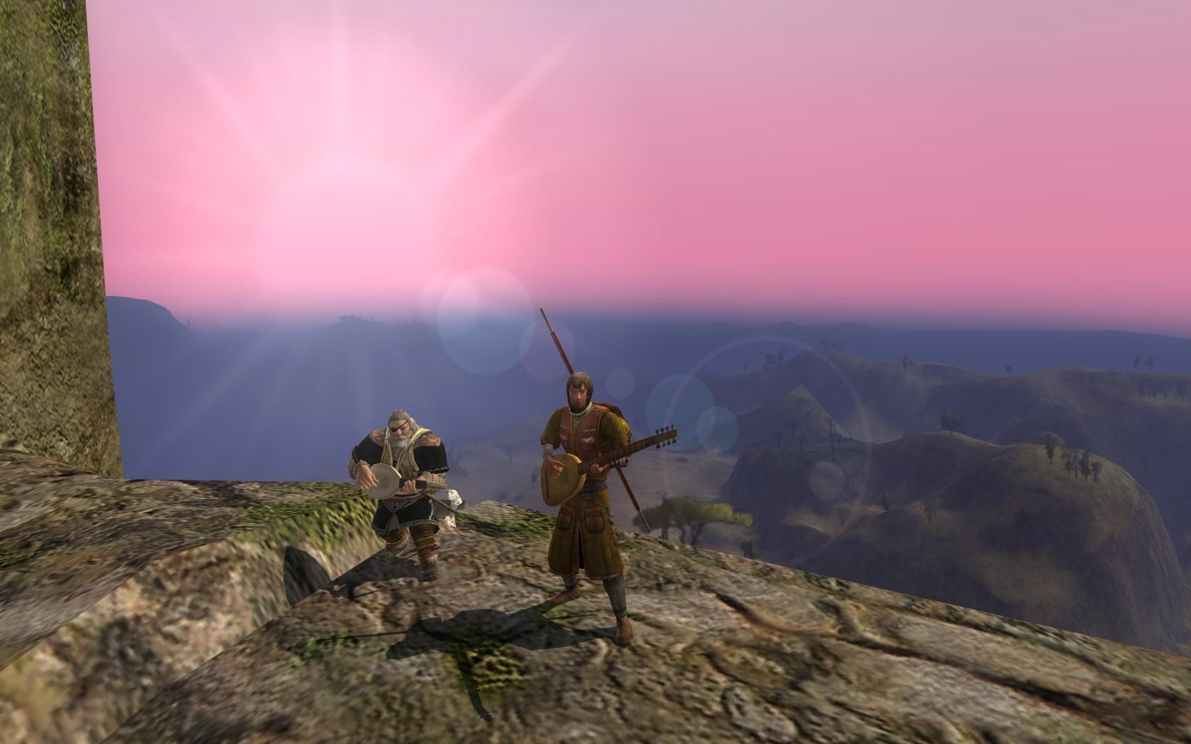 Lord of the Rings Online - Promo shot for Weatherstock