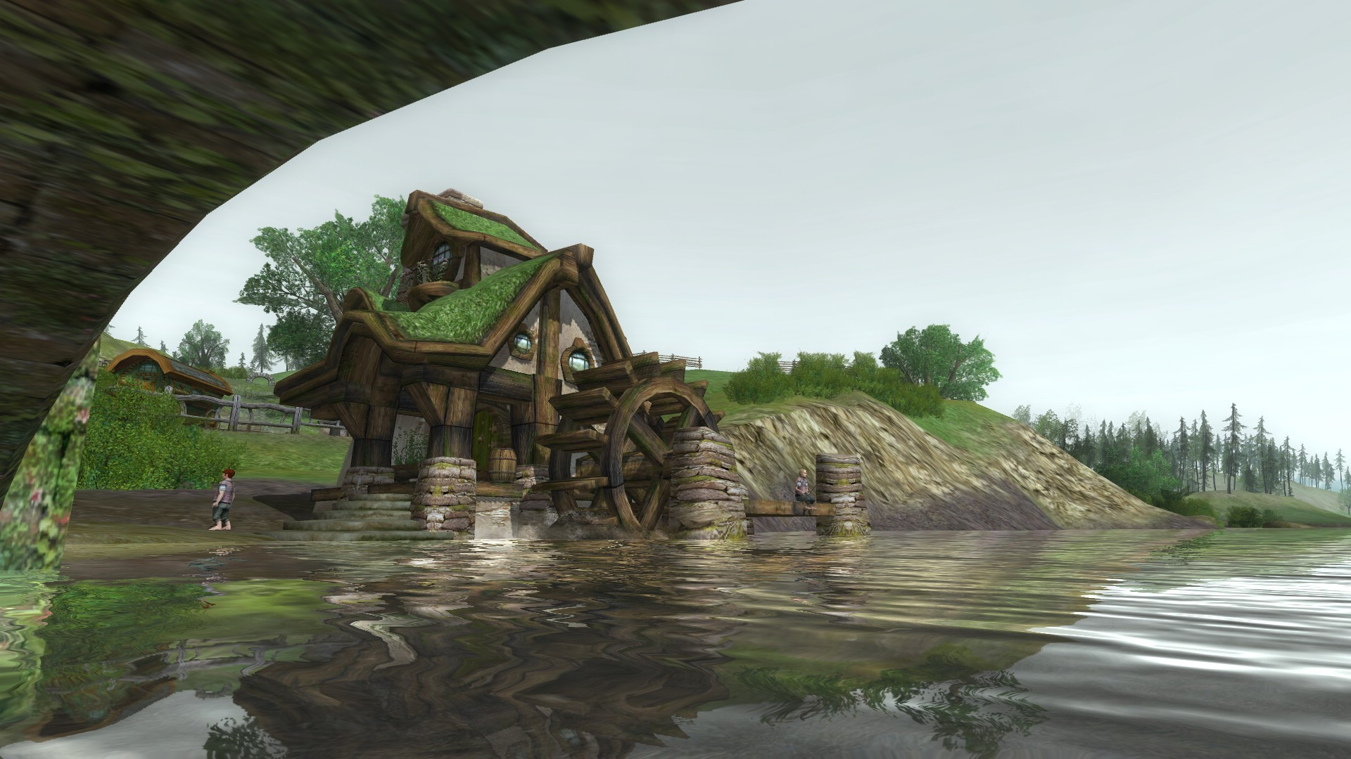 Lord of the Rings Online - Shire on a gloomy day :)