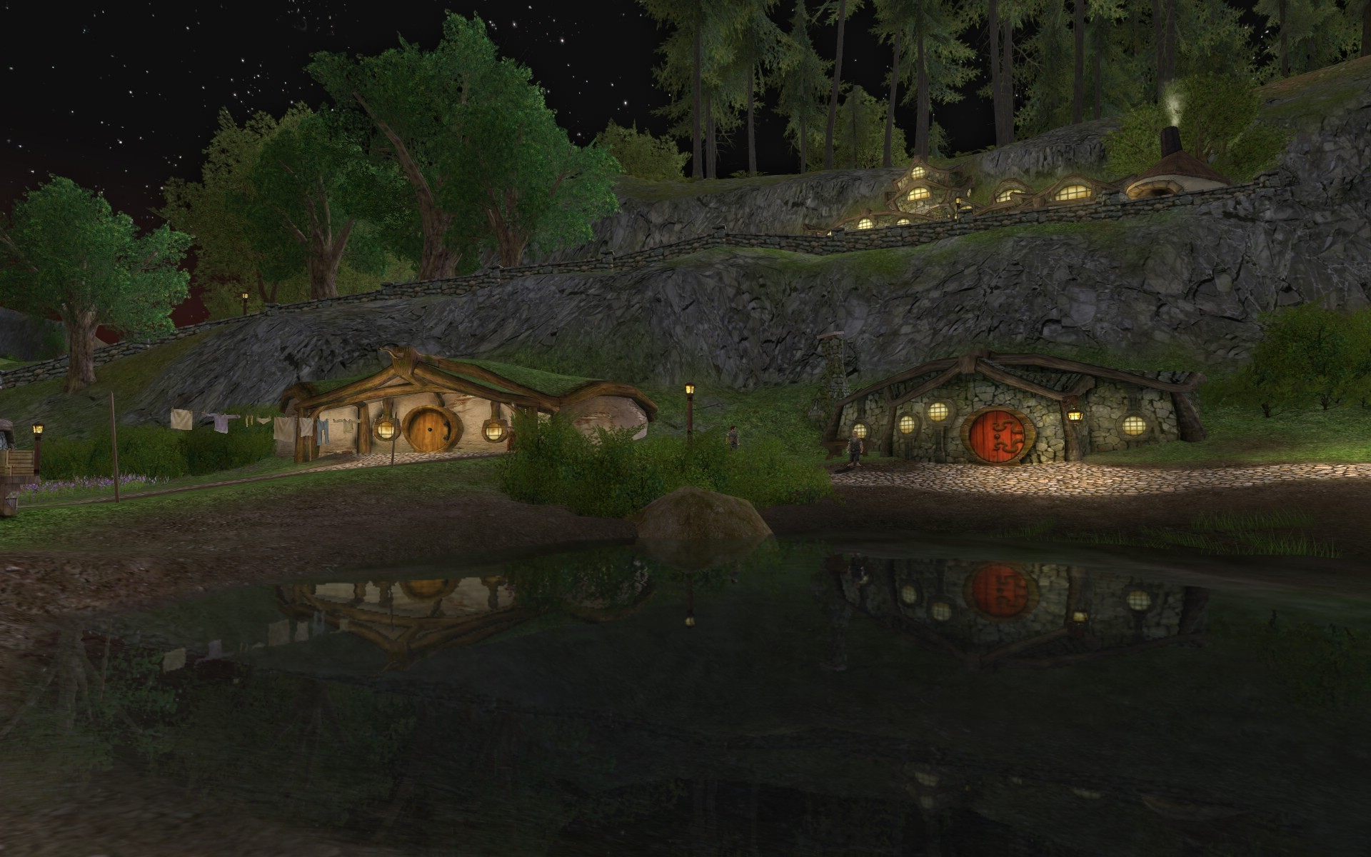 Lord of the Rings Online - Night in the Shire