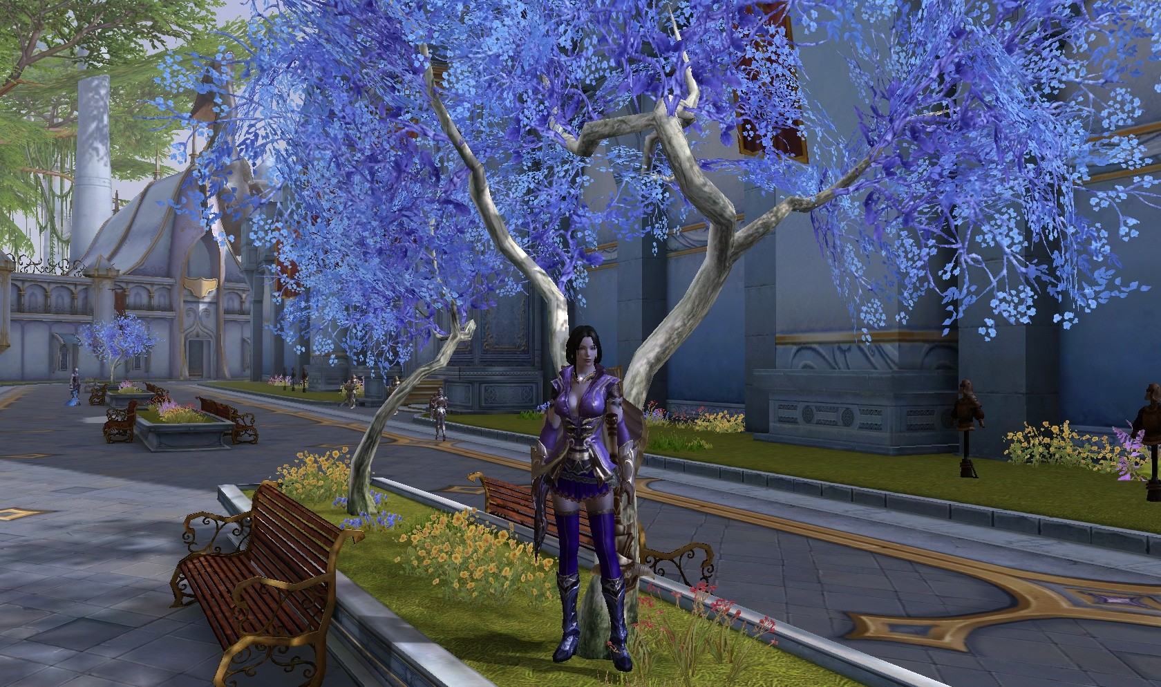 Aion - my cleric at 50 :)