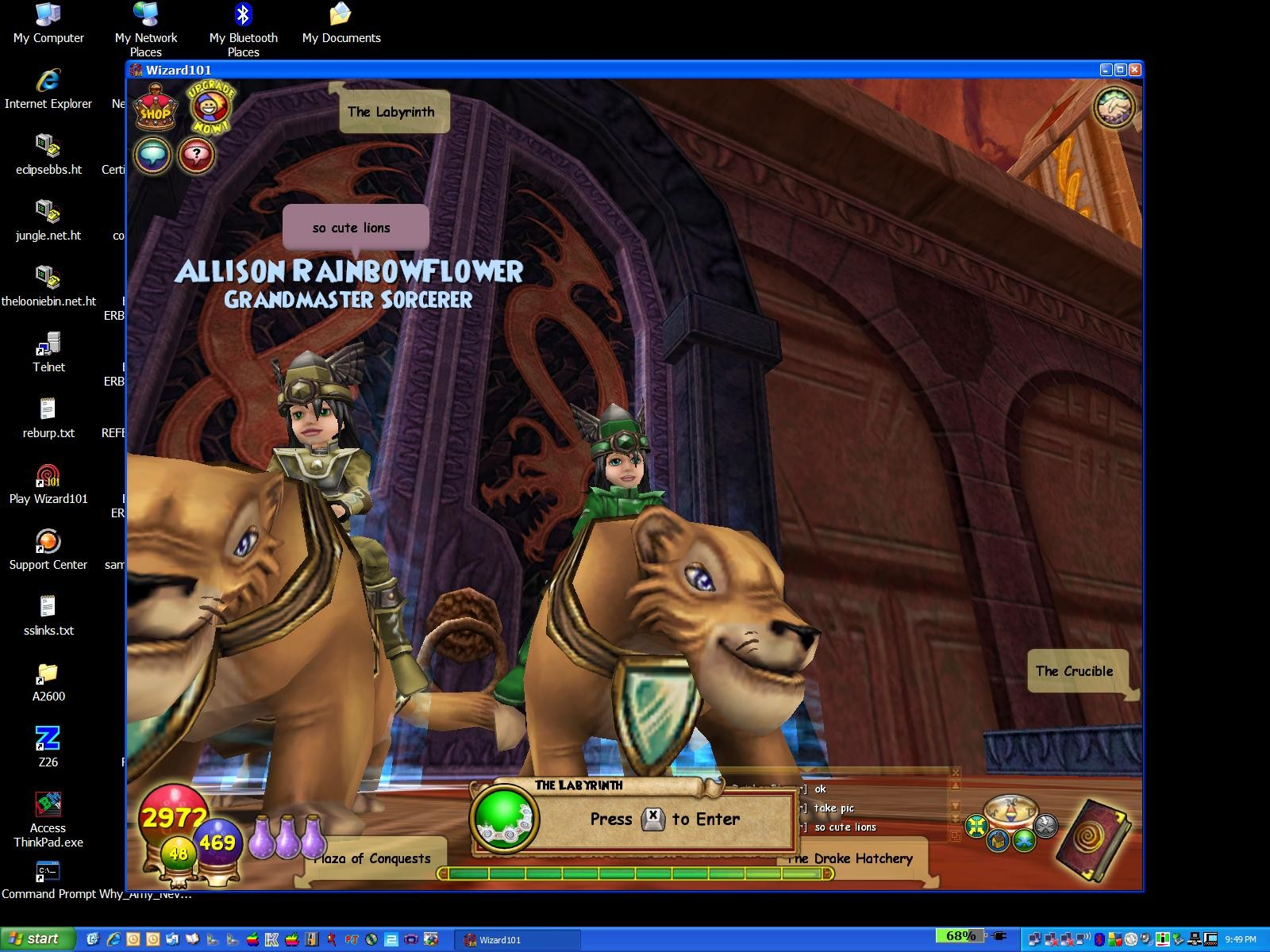 wizard101 login to play