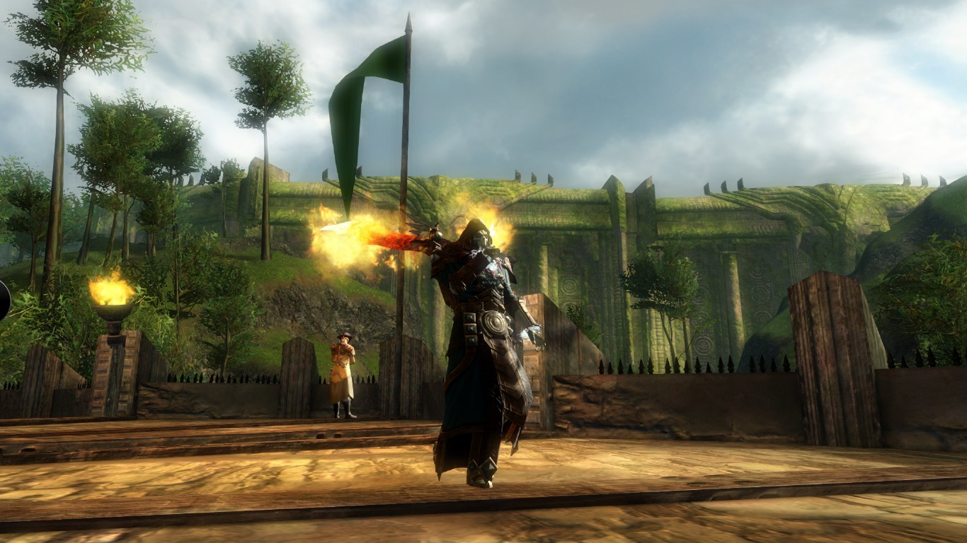 Guild Wars 2 - I really do love the conjured greatsword...