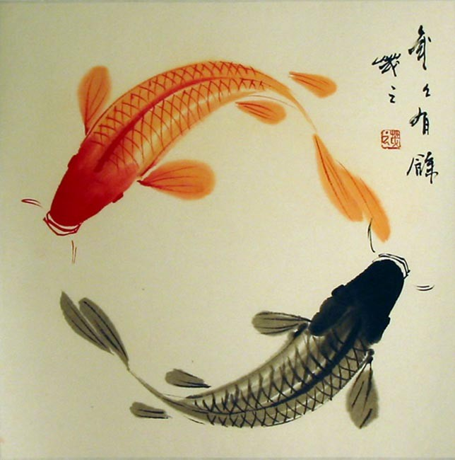 Japanese koi fish 2moons galleries for Chinese coy fish