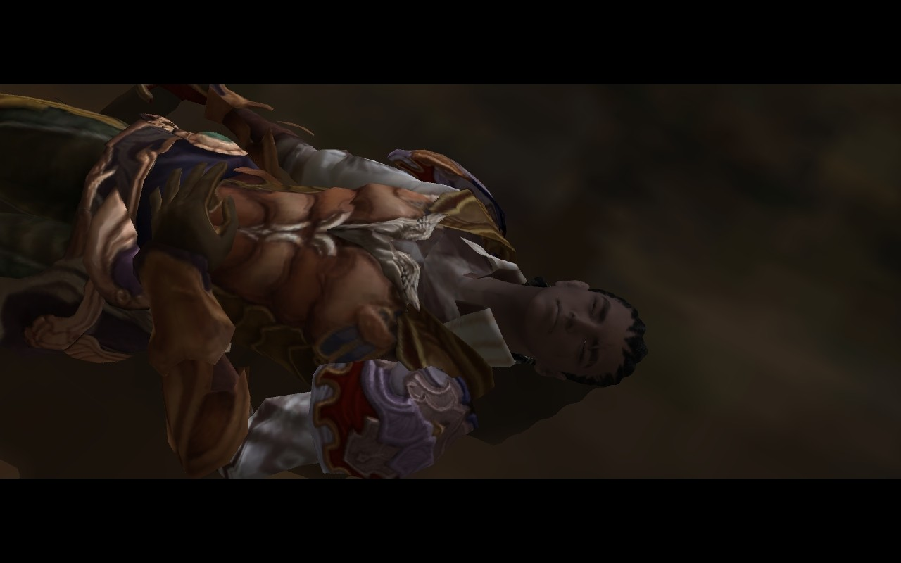 Aion - Pretty Riki passed out