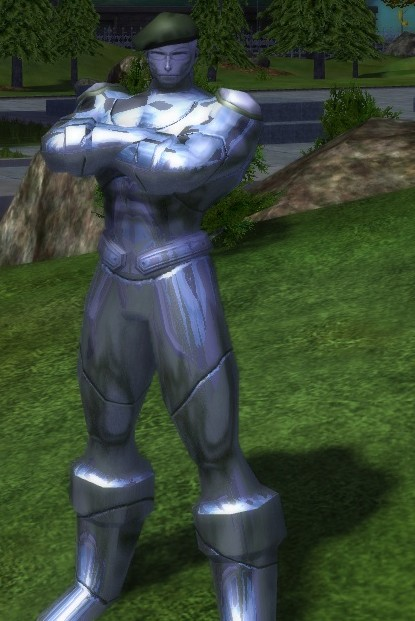 City of Heroes - Metallic Soldier
