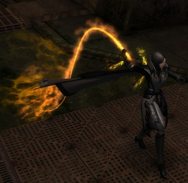 City of Heroes - The Demon Summoner with the Flame Whip of Hell (bAss_ackwards)