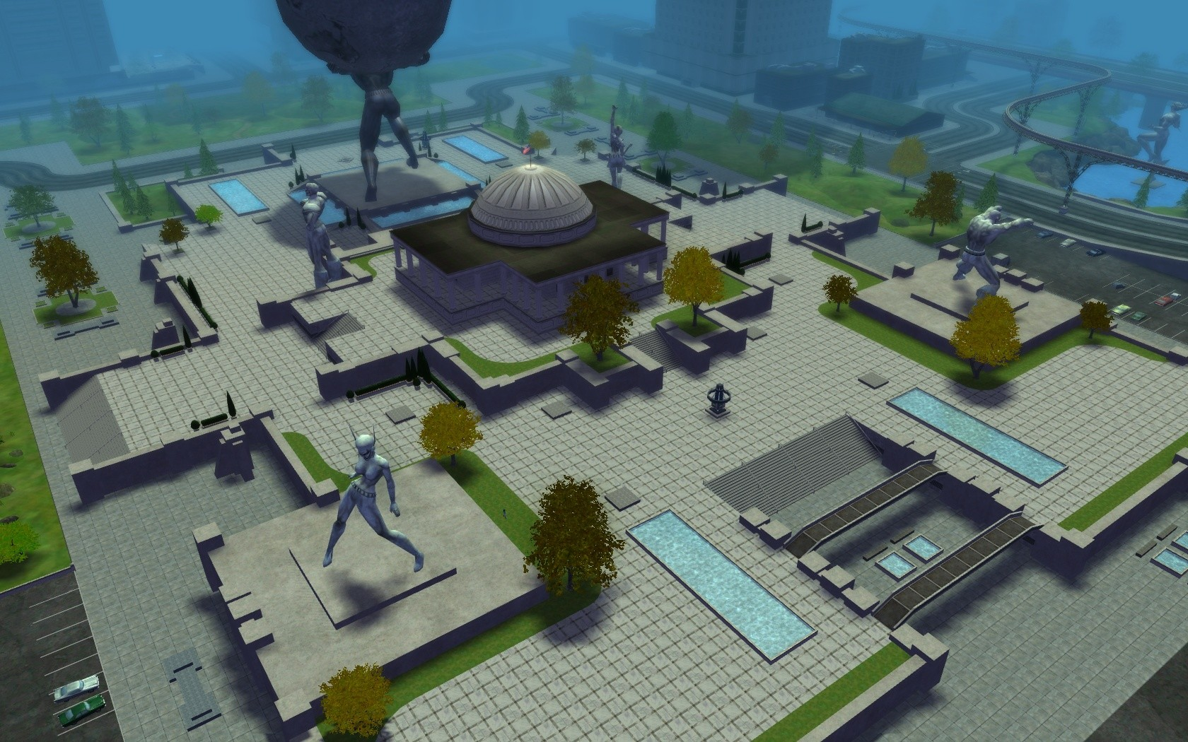 City of Heroes - Atlas Park (Necrotron)
