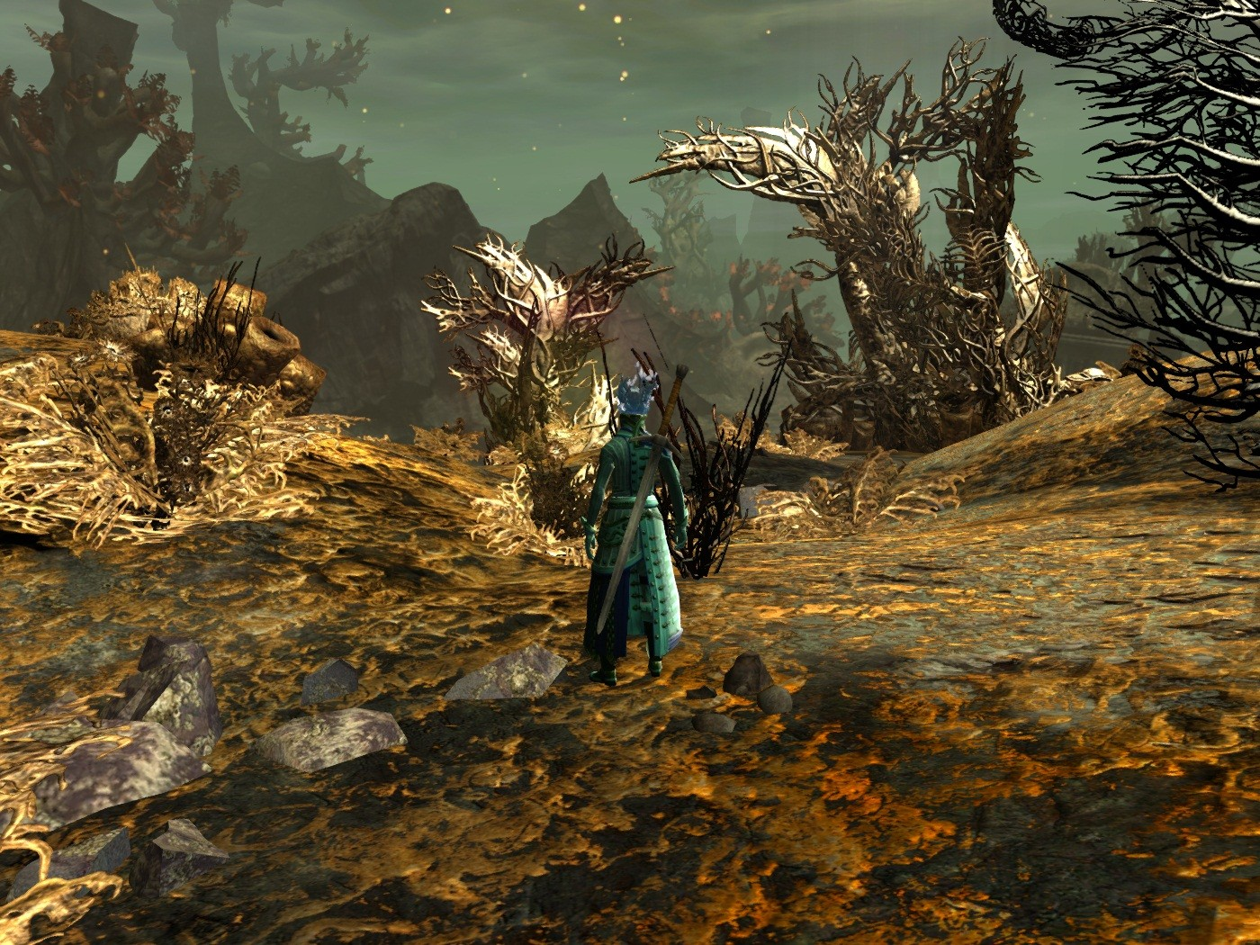 Guild Wars 2 - I hav to say Orr so far has been an amazing looking zone.