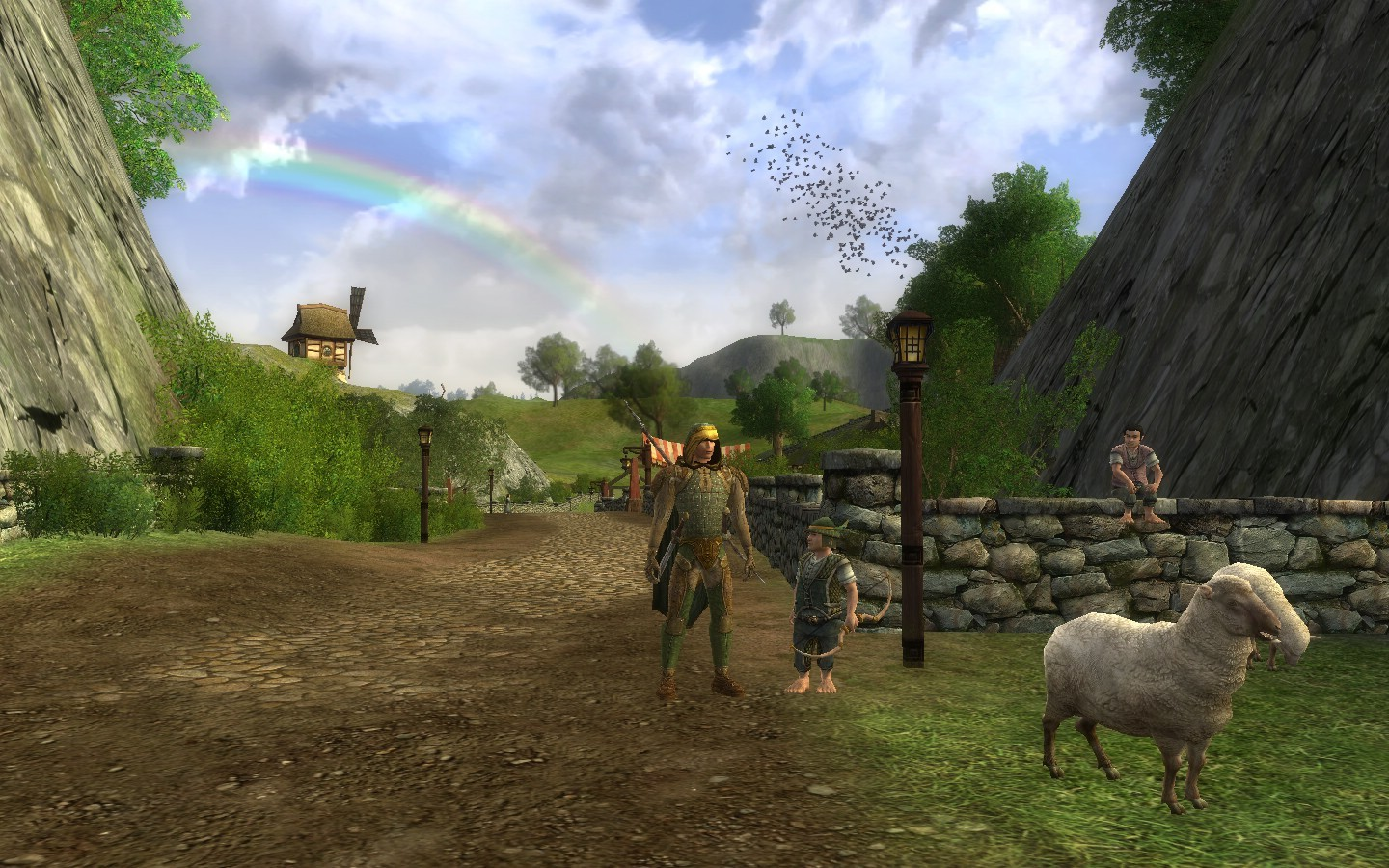 Lord of the Rings Online - The shire!