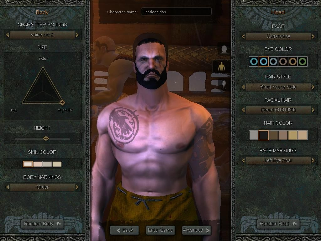 Age of Conan: Unchained - My try at Leonidas  from &quot;300&quot;