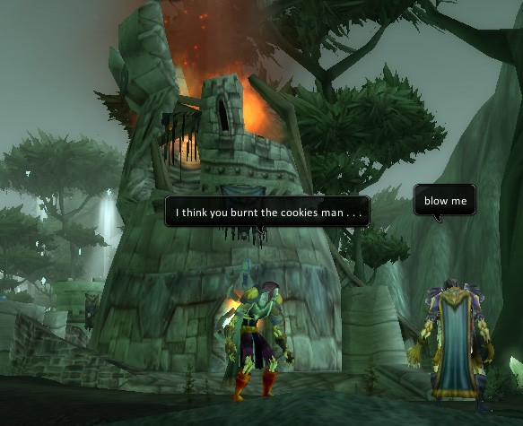 World of Warcraft - He totally did