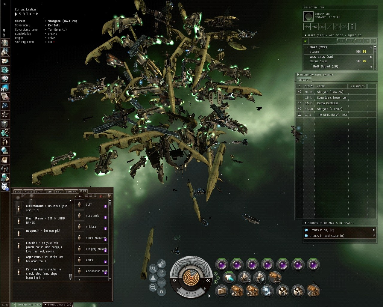 EVE Online - A Real Gate Camp 2
