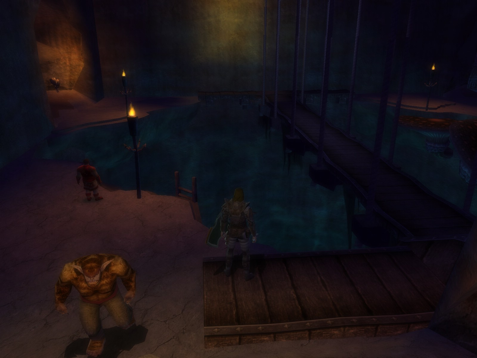"Dungeons & Dragons Online - DDO: Black Loch. Will be closed in Mod 9 ""for renovations"". I wonder what will they do..."