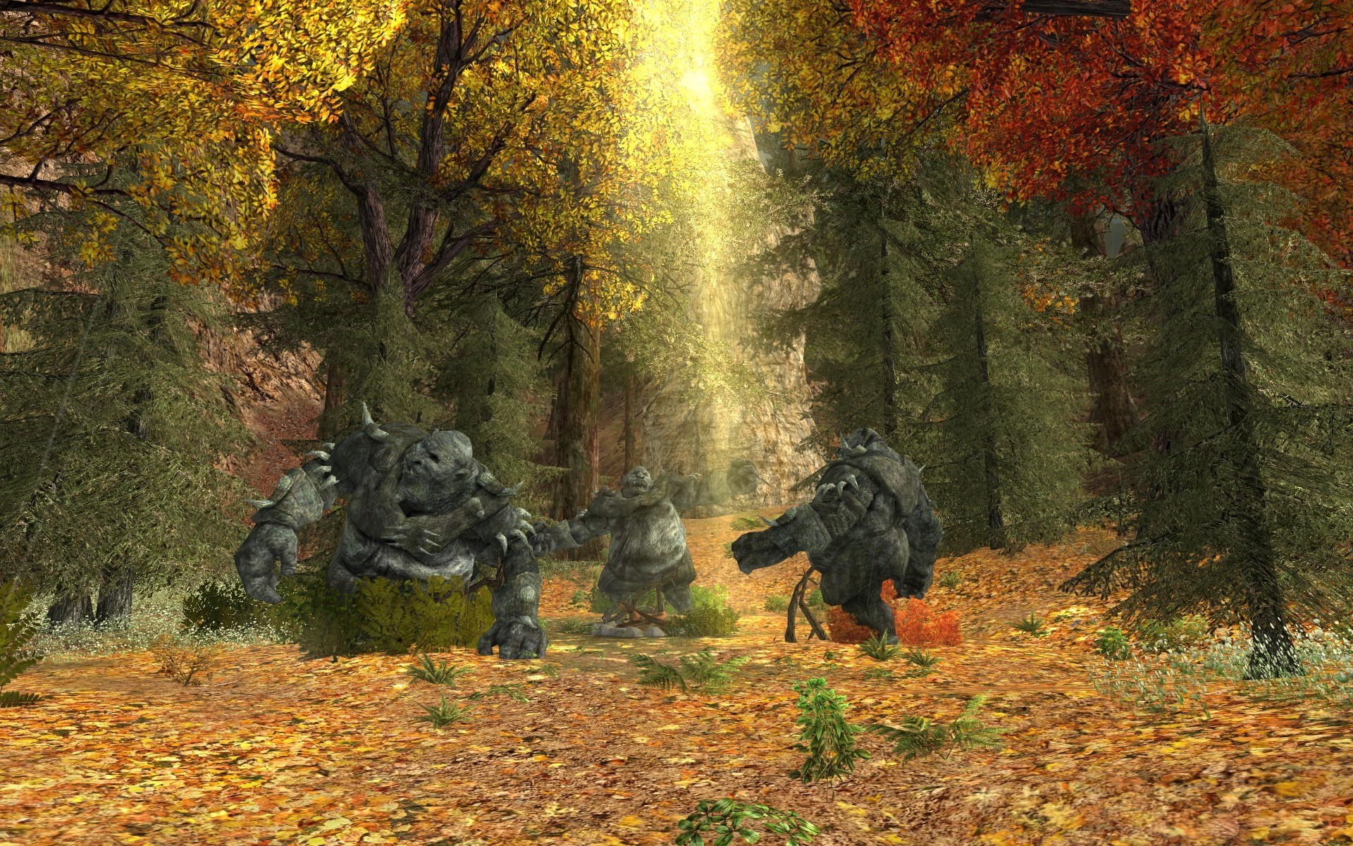 Lord of the Rings Online - The Stone Trolls of Rivendell