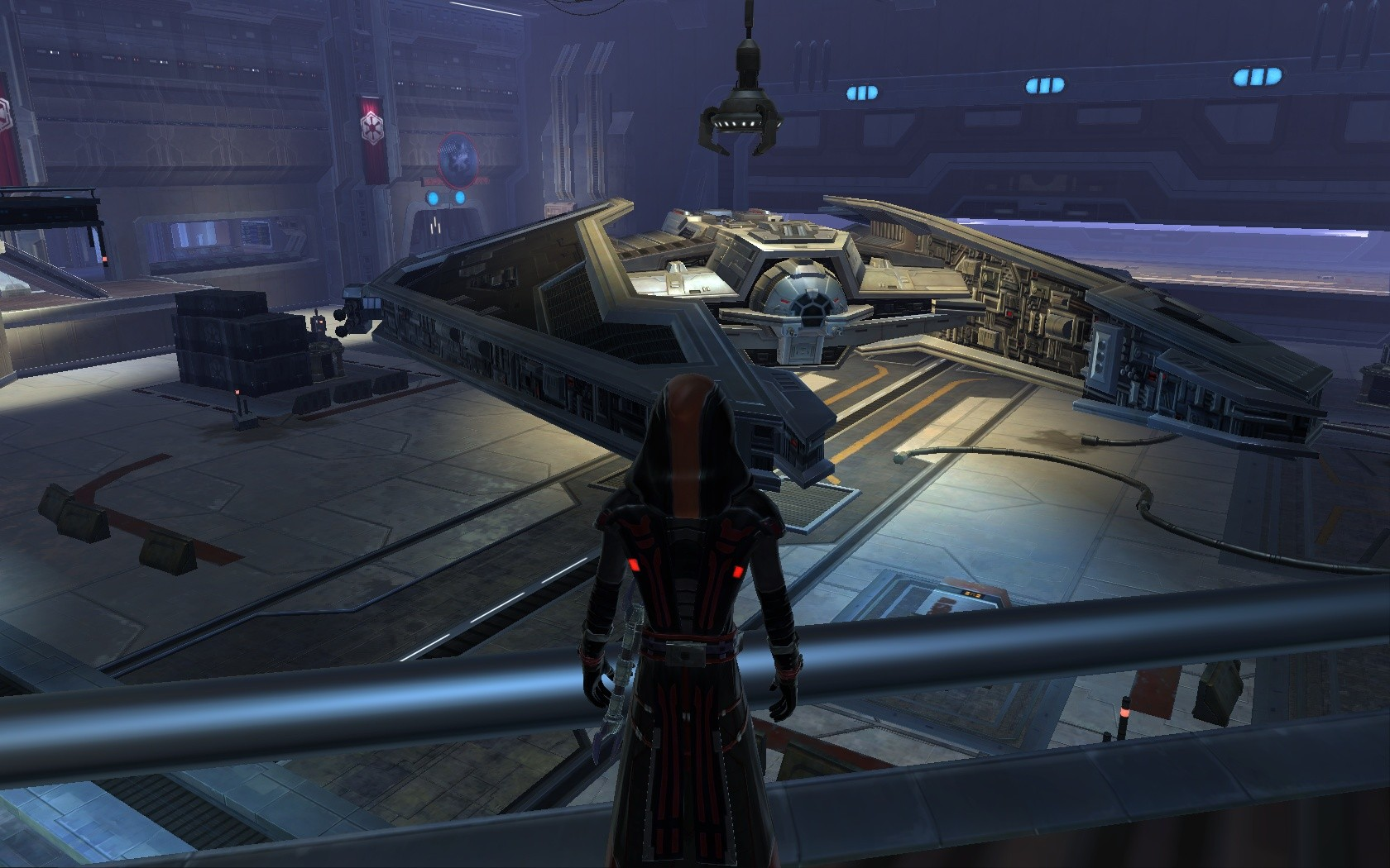 Star Wars: The Old Republic - Behold! The beauty! My ship!