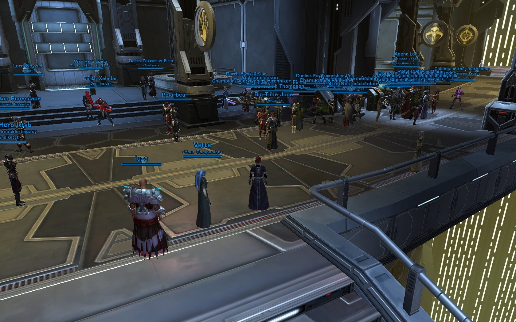 Star Wars: The Old Republic - For the flame! =P
