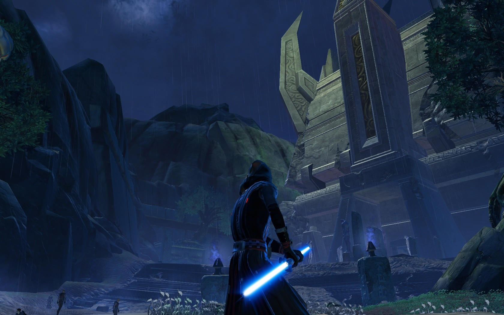 "Star Wars: The Old Republic - The ""hidden"" temple."