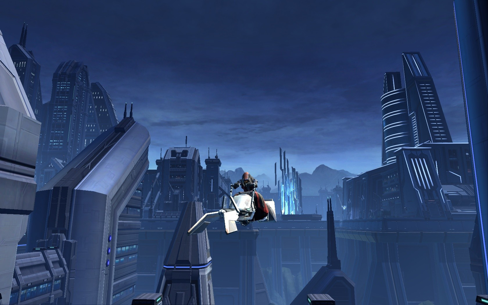 Star Wars: The Old Republic - On my way to get my ship!